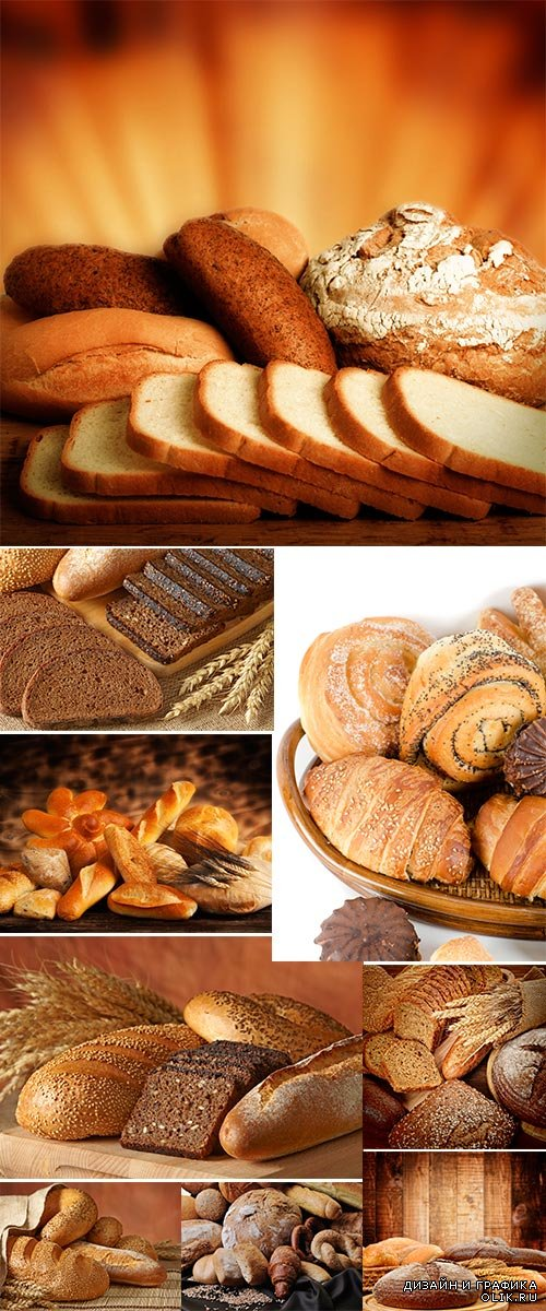 Group of bread - Stock image