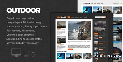 t - Outdoor v1.0 - Responsive Adventure Blog and Magazine