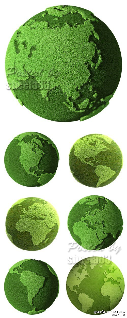Stock Photo - Green Earth