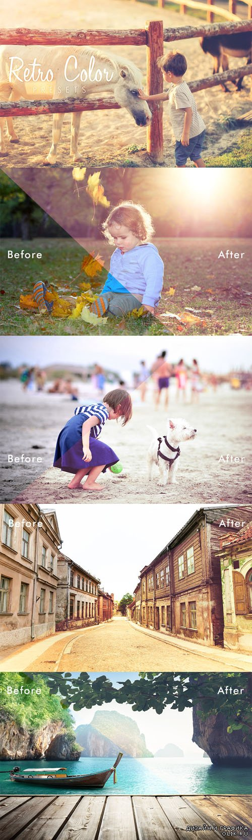 CreativeMarket - Retro Color LRM Presets 68797