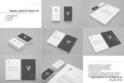 CreativeMarket - Branding/Identity Mock-up 1644