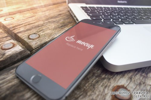 iPhone 6 Mockup Pier PSD