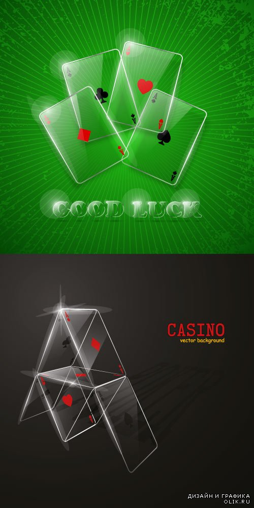 Poker cards backgrounds 12