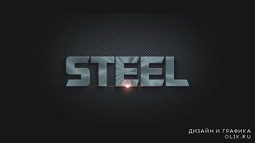 Steel Logo Reveal - Project for After Effects