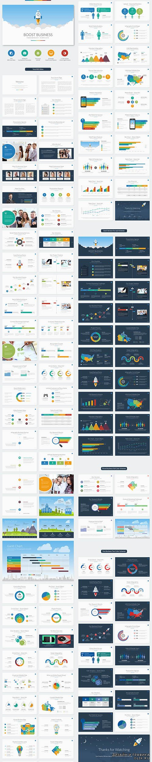 GraphicRiver - Boost Business Powerpoint Template 10171379