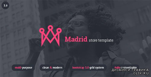 t - Madrid - Responsive HTML5 Store Template - RIP