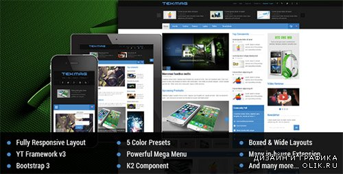 t - Tekmag v1.0.1 - Technology News/Magazine Joomla 3.x Template