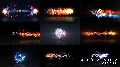 Quick Logo Sting Pack 07: Energetic Particles - Project for AFEFS (Videohive)