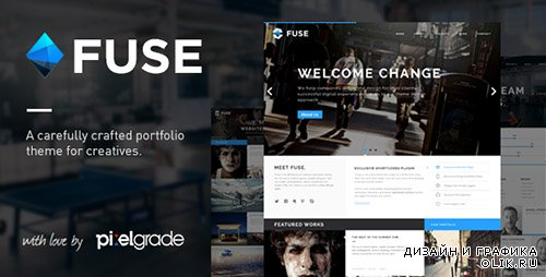 t - Fuse v1.4.2 - Responsive Portfolio & Blog WordPress Theme