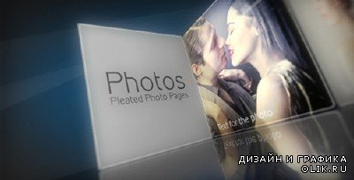 Pleated Photo Pages - Project for AFEFS (Videohive)