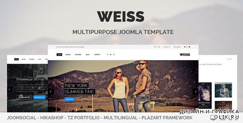 t - Weiss v1.0.0 - Multipurpose Joomla 3.x Template