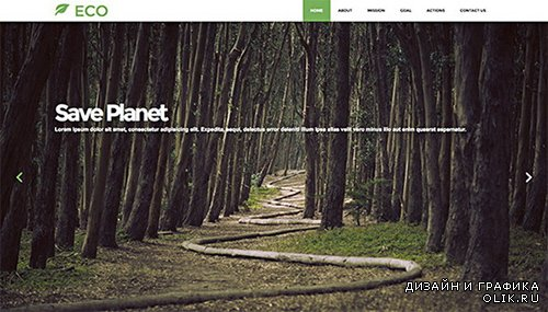 CreativeMarket - ECO industrial bootstrap theme