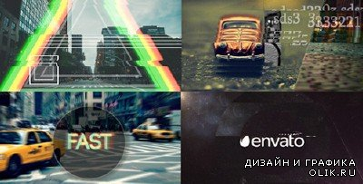 Fast Glitch Logo Opener - Project for AFEFS (Videohive)