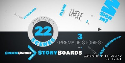 Kinetic Typo Storyteller - Project for After Effects (Videohive)