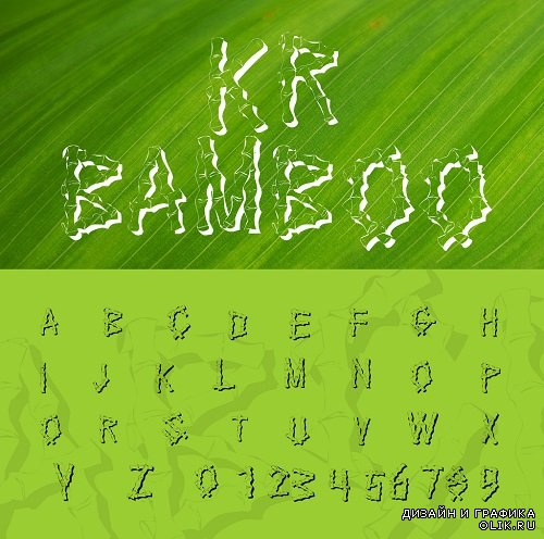 Bamboo Font Style