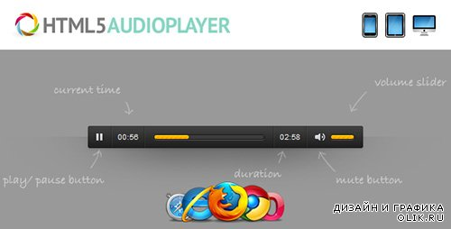 CodeGrape - HTML5 Audio Player