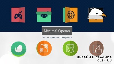 Minimal Logo Opener - Project for AFEFS (Videohive)