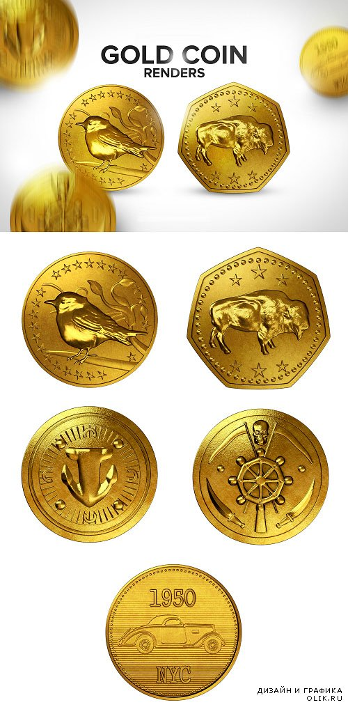 Photo Stock Gold Coins