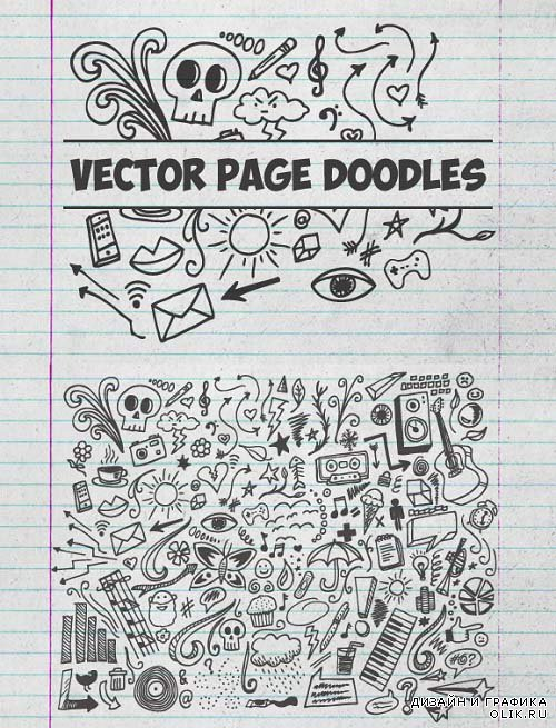 Vector Page Doodles 2