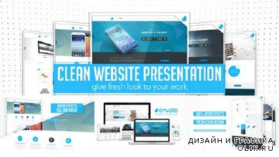 Clean Website Presentation 2 in 1- Project for AFEFS (Videohive)