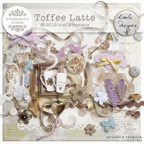 Скрап-набор - Toffee Latte