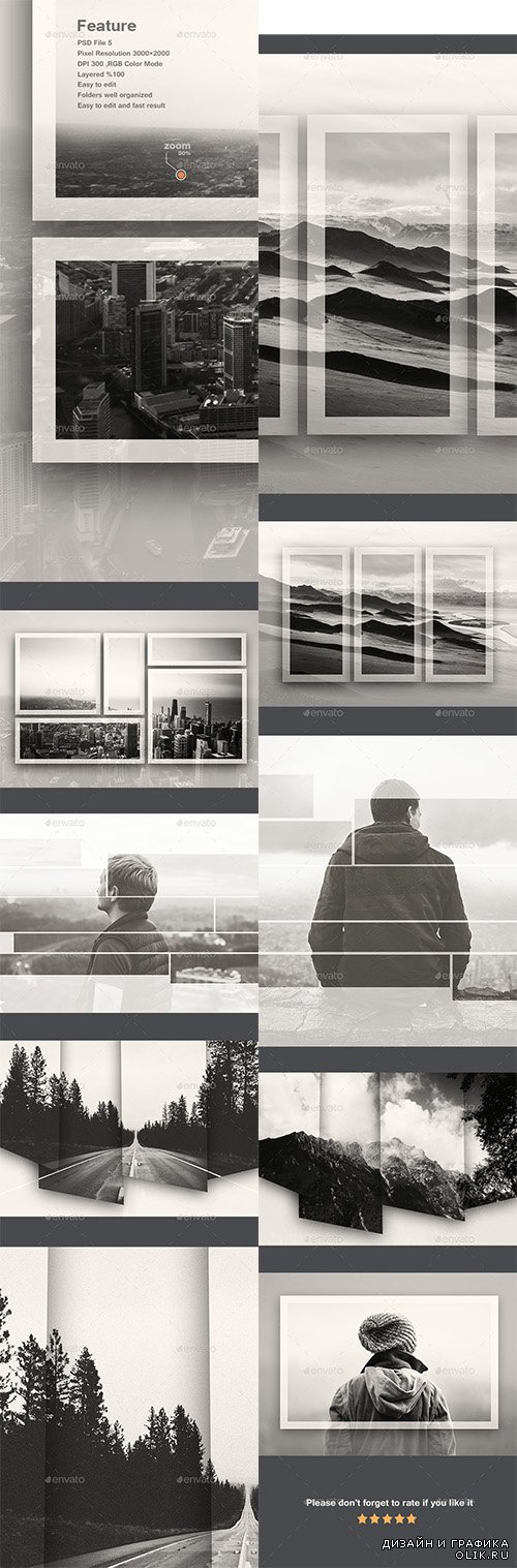 GraphicRiver - Double Exposure Frame Photo Template v2 11540742