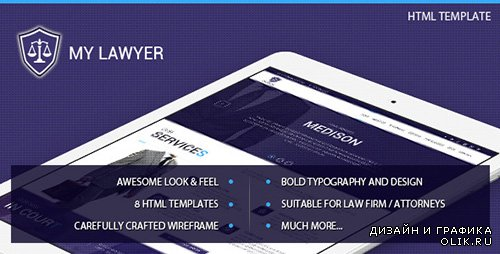 t - MyLawyer v1.0 - Lawyer Attorney HTML Template - FULL