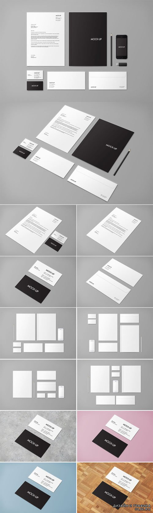 Stationery & Branding Mock-up - Creativemarket 20101