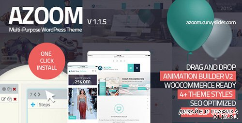 t - Azoom v1.1.5 - Multi-Purpose Theme with Animation Builder