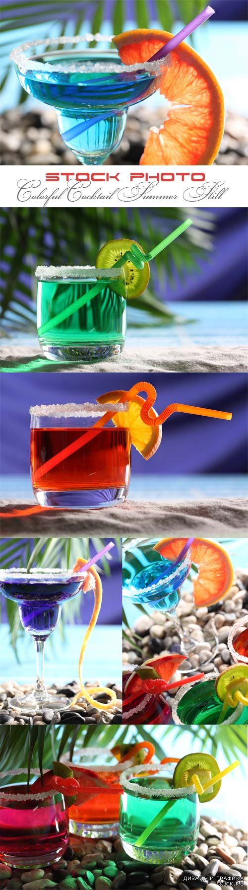 Colorful Cocktail Summer Still