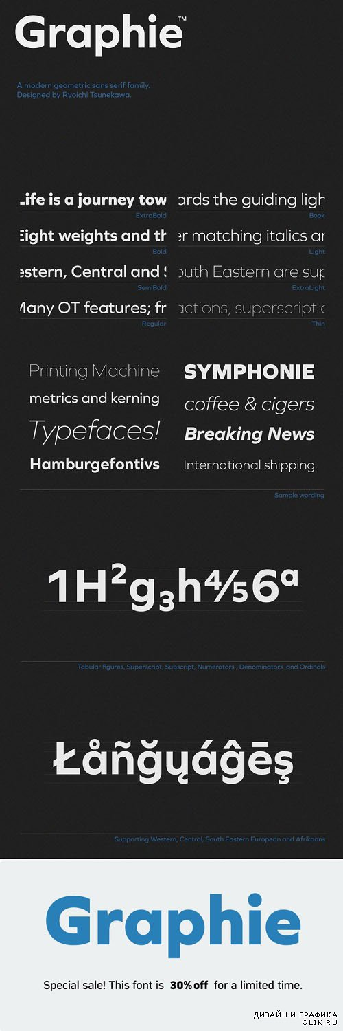 Graphie Font Style