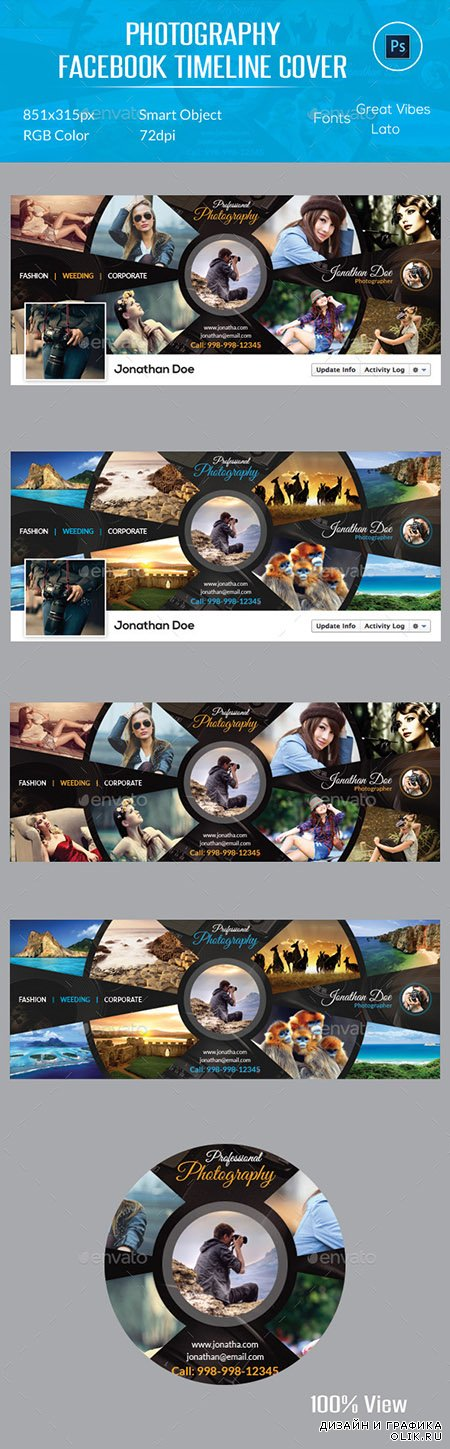 GraphicRiver - Photography Facebook Timeline Cover 12261202