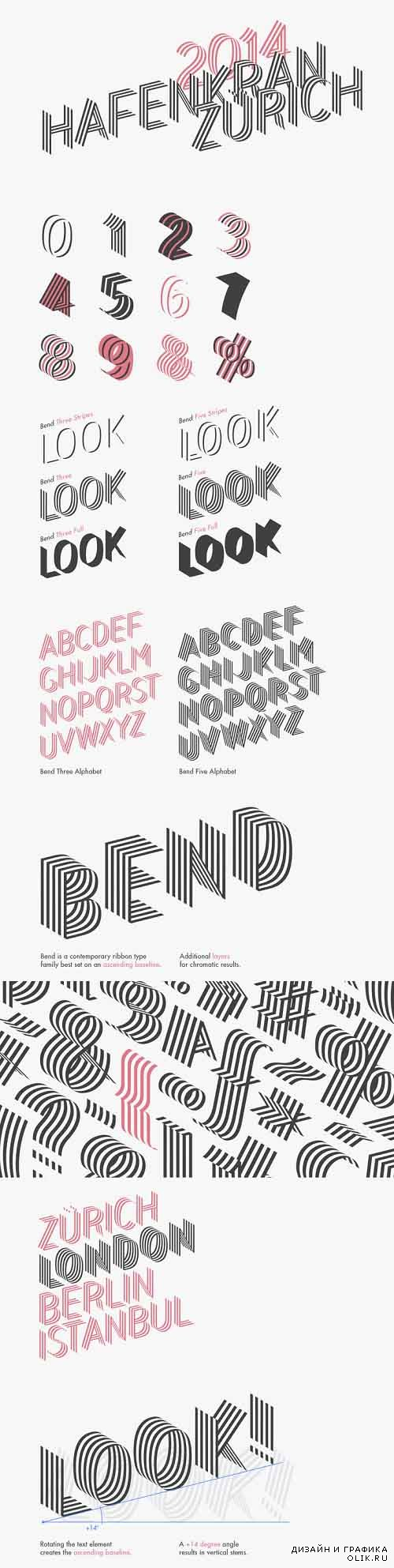 Bend Ad Font Style