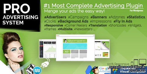 CodeCanyon - WP PRO Advertising System v4.6.4 - All In One Ad Manager