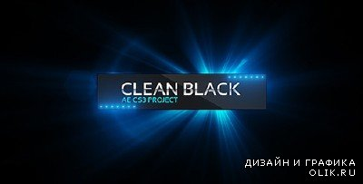 Clean Black Presentation - Project for After Effects (Videohive)