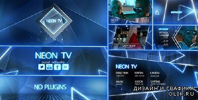 Neon TV Broadcast Package - Project for AFEFS (Videohive)