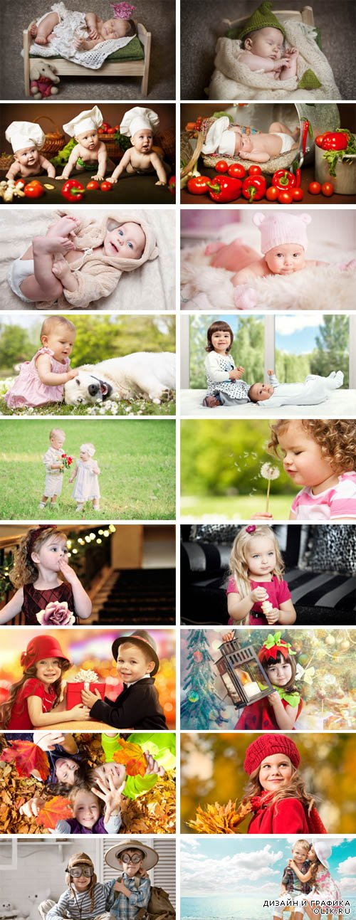Stock Photo - Children - Flowers of Life