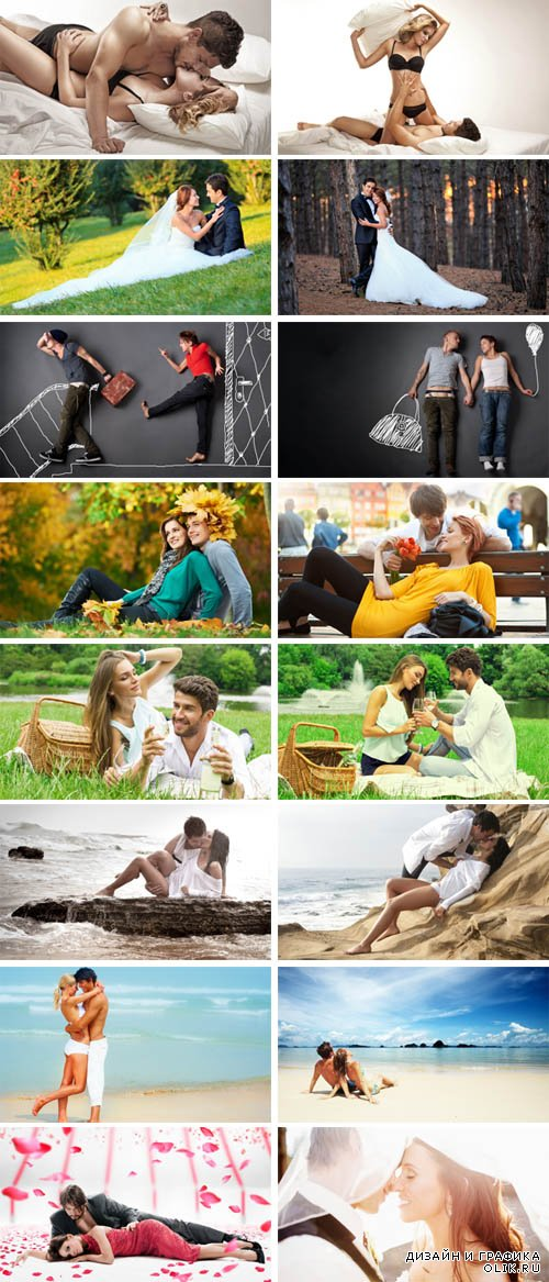 Stock Photo - Couples in Love