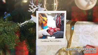 Christmas and New Year Photo Gallery - Project for AFEFS (Videohive)