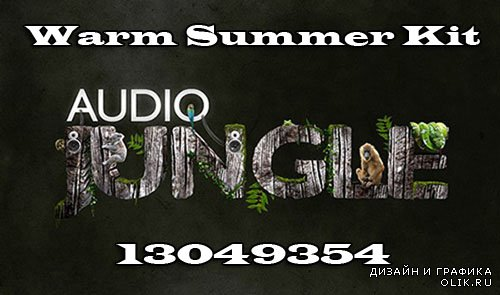 Audiojungle Warm Summer Kit 13049354