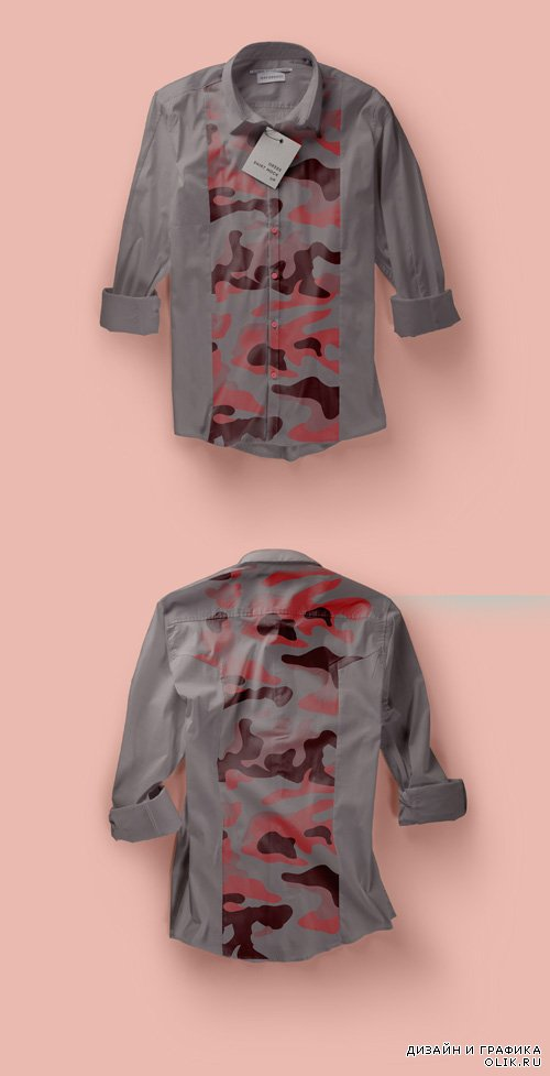 Dress Shirt Mockup Vol 2 PSD