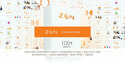 Zen Presentation Bundle - Project for AFEFS (Videohive)
