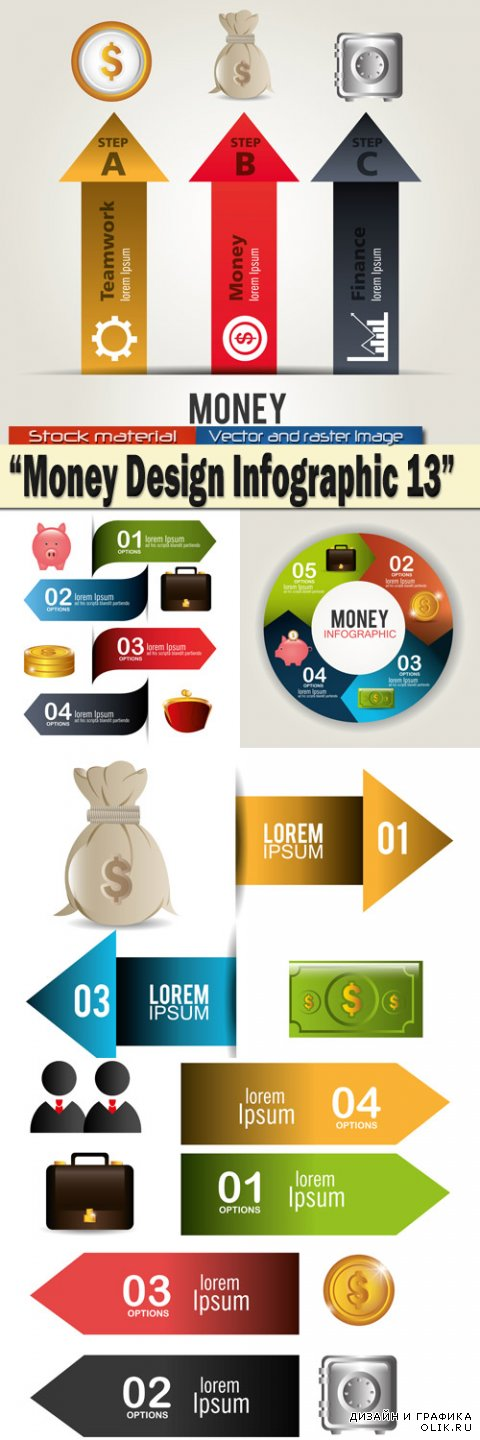 Money Design Infographics 13