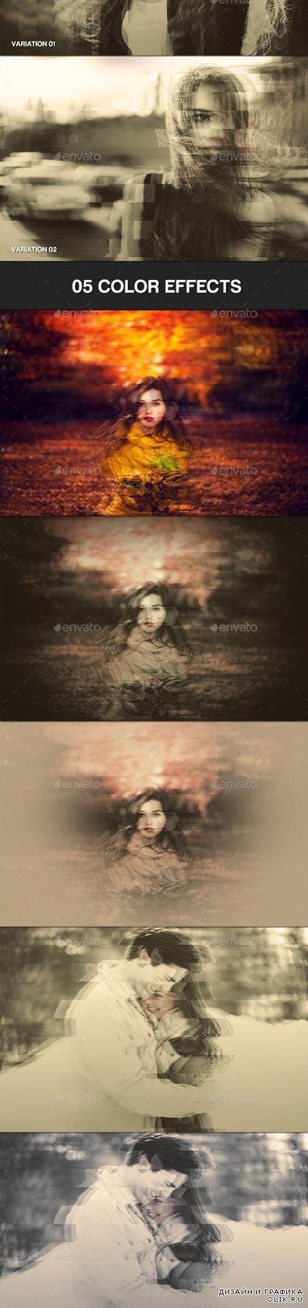 GraphicRiver - Glitch Effect Photo Template 13241037