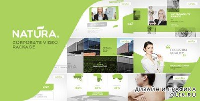 Natura - Corporate Video Package - Project for After Effects (Videohive)
