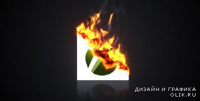 Burning Paper Logo - Project for AFEFS (Videohive)