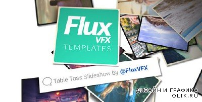 Table Toss Slideshow - Project for AFEFS (Videohive)