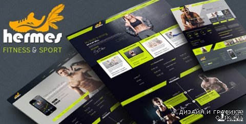 t - Hermes v1.0 - Fitness One-page PSD Template - 8295063