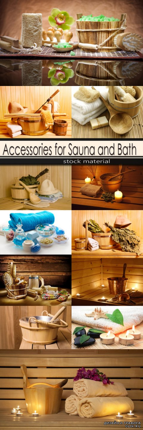 Accessories for Sauna and Bath