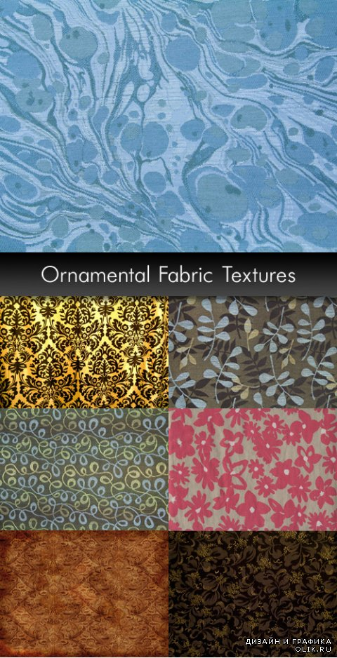 Ornamental Fabric Textures